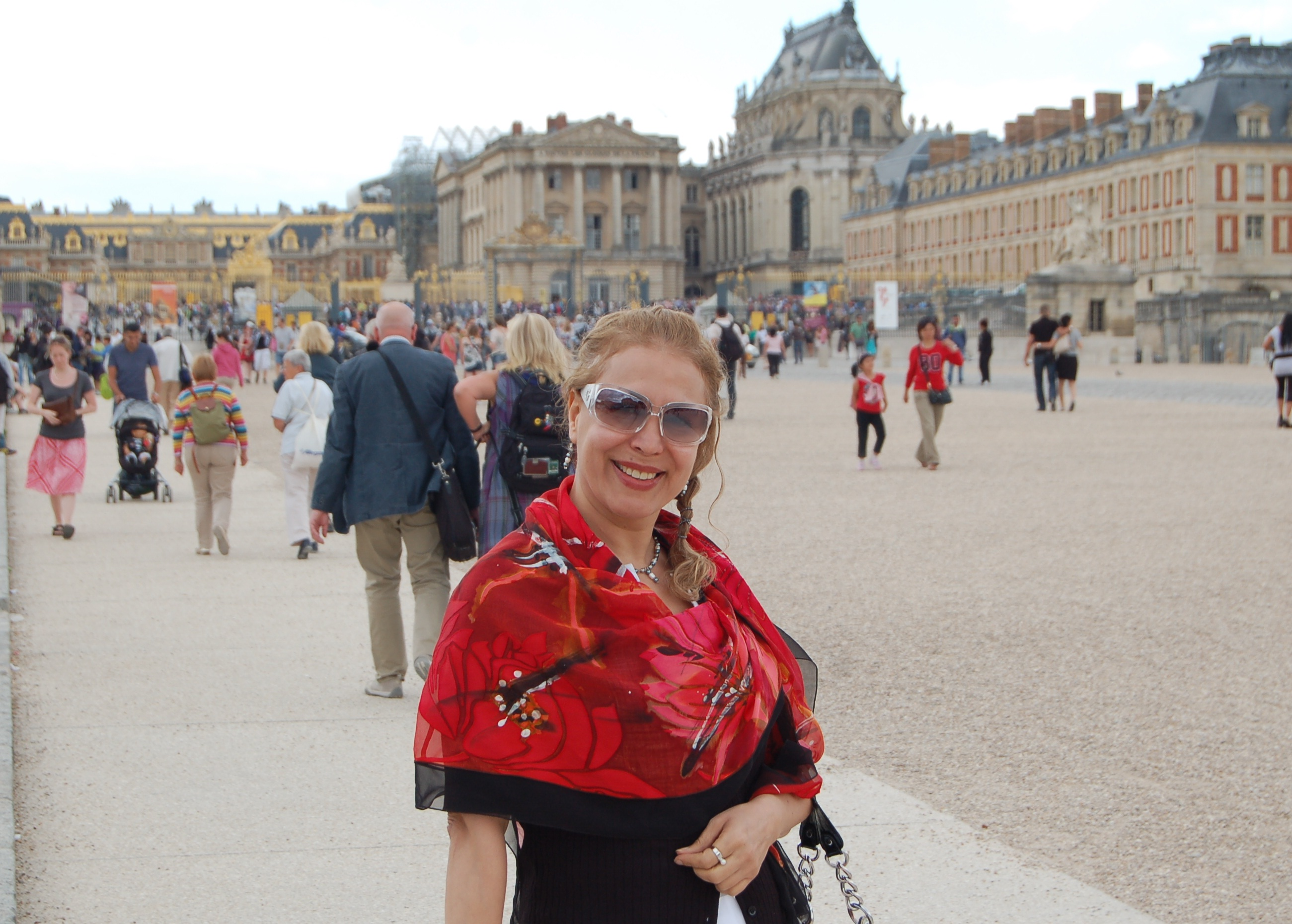 2012/Fariba in the Gardens of Versailles,Paris